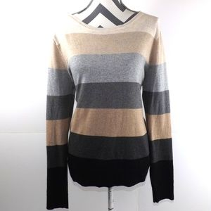Croft And BarrowStriped Cotton Sweater